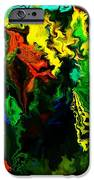 Abstract 2-23-09 IPhone Case by David Lane