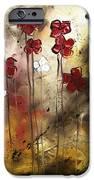 Abstract Art Original Flower Painting Floral Arrangement By Madart IPhone Case by Megan Duncanson