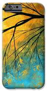 Abstract Landscape Art Passing Beauty 2 Of 5 IPhone Case by Megan Duncanson