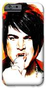 Adam Lambert IPhone Case by Lin Petershagen