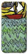 Afloat On The Bubbling Sea IPhone Case by Wayne Potrafka