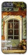 Al Fresco In Cortile IPhone Case by Guido Borelli