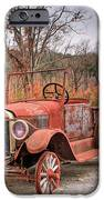 Antique Car And Filling Station 1 IPhone Case by Douglas Barnett