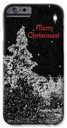 Winter's Night- Vertical IPhone Case by Methune Hively
