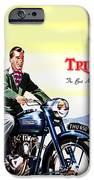 Triumph 1953 IPhone Case by Mark Rogan