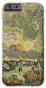 Autumn Landscape IPhone Case by Vincent Van Gogh