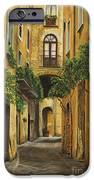 Back Street In Italy IPhone Case by Charlotte Blanchard