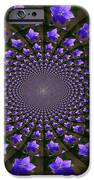 Balloon Flower Kaleidoscope IPhone Case by Teresa Mucha