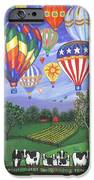 Balloon Race Two IPhone Case by Linda Mears