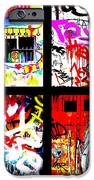 Barcelona Doors ... All Graffiti IPhone Case by Funkpix Photo Hunter