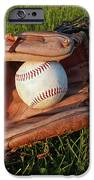 Baseball Gloves After The Game IPhone Case by Anna Lisa Yoder