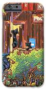 Bear Post IPhone Case by Nadi Spencer