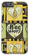 Bee Happy IPhone Case by Jen Norton