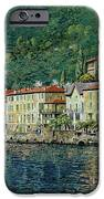 Bellano On Lake Como IPhone Case by Guido Borelli