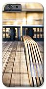 Benches At The High Line Park IPhone Case by Eddy Joaquim