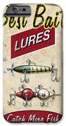 Best Bait Lures IPhone Case by JQ Licensing