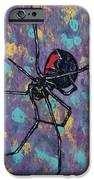 Black Widow IPhone Case by Michael Creese