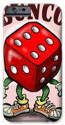 Bunco IPhone Case by Kevin Middleton