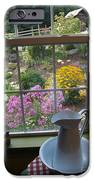 By The Garden Window In North Carolina IPhone Case by Anna Lisa Yoder