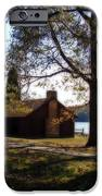 Cabin By The Lake IPhone Case by Sandy Keeton