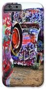 Cadillac Ranch IPhone Case by Angela Wright