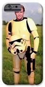 Captain James T Kirk Stormtrooper IPhone Case by Paul Van Scott