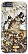 Cartoon: Anti-trust, 1889 IPhone Case by Granger