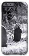 Cemetery And Snow IPhone Case by Jane Rix