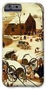 Census At Bethlehem IPhone Case by Pieter the Elder Bruegel