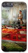 Chef - Vegetable - Jersey Fresh Farmers Market IPhone Case by Mike Savad