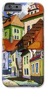 Chesky Krumlov Masna Street 1 IPhone Case by Yuriy  Shevchuk