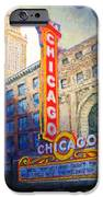 Chicago Theater IPhone Case by Michael Durst