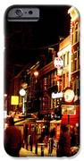 Christmas In Amsterdam IPhone Case by Nancy Mueller
