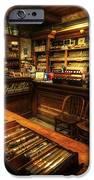 Cigar Shop IPhone Case by Yhun Suarez