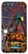 County Fair Ferris Wheel IPhone Case by Corky Willis Atlanta Photography