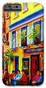 Courtyard Cafes IPhone Case by Carole Spandau
