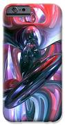 Dancing Hallucination Abstract IPhone Case by Alexander Butler