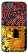 Danish Barn Watercolor Version IPhone Case by Steve Harrington