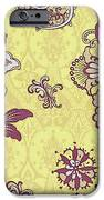 Deco Flower Yellow IPhone Case by JQ Licensing