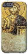Deesis Mosaic Hagia Sophia-christ Pantocrator-judgement Day IPhone Case by Urft Valley Art
