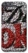 Diet Coke Bottle Cap Mosaic IPhone Case by Paul Van Scott