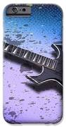 Digital-art E-guitar II IPhone Case by Melanie Viola