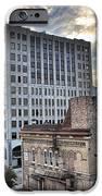 Downtown Appleton Skyline IPhone Case by Mark David Zahn