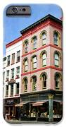 Downtown Ithaca Architecture  IPhone Case by Christina Rollo