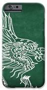 Dragon On Chalkboard IPhone Case by Setsiri Silapasuwanchai