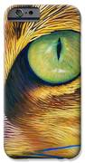 El Gato IPhone Case by Brian  Commerford