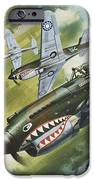 Famous Aircraft And Their Pilots IPhone Case by Wilf Hardy
