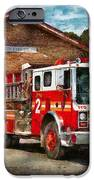 Fireman - Union Fire Company 1  IPhone Case by Mike Savad
