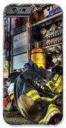 Fireman - Always Ready For Duty IPhone Case by Lee Dos Santos