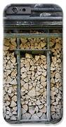 Firewood Stack IPhone Case by Frank Tschakert
